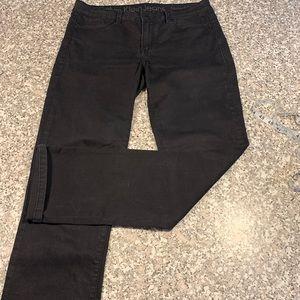 Calvin Klein black straight jeans size 8/29 GUC